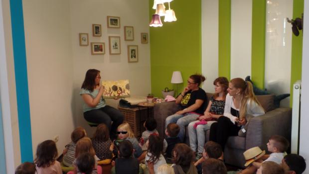 Pupsprinz-Vorlesestunde mit dem Kinderhaus Rüsselsheim